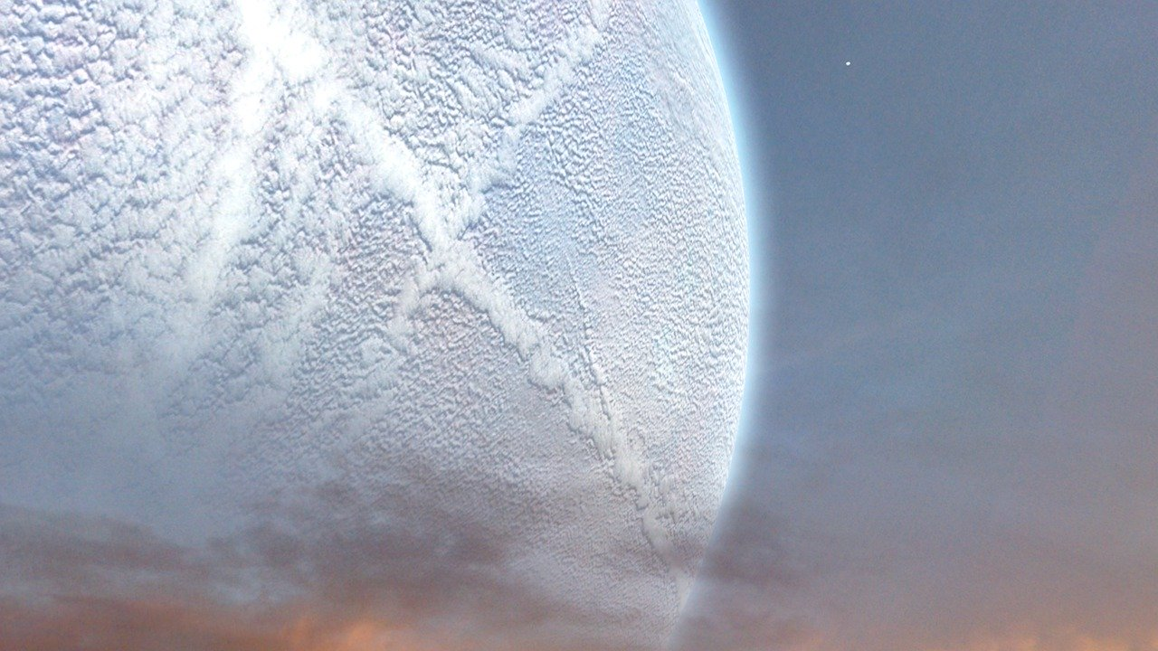 extraterrestrial, landscape, space